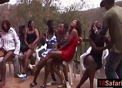 black interracial monster cock gangbang party