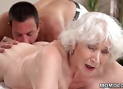 Bubble Butt Mom Massaging By Two Masts