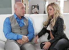 Appetizing Jessa Rhodes fucks powerful man