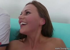 ASHA - Victorie evil anal, Gentlemens in swingers bar this day