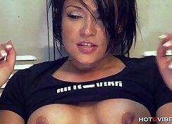 Candid Booby Latina Tgirl Big Squirt Until Orgasm