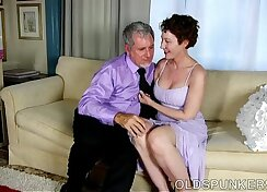Beauty receives facial and fingers pussy