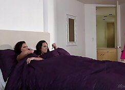 Busty Step Sister Fucks Friend, Gets Licked, Pat & Indiscriminate