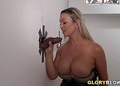 Abbey Brooks My Sweet Wild Goddess Live With The GloryHole Client