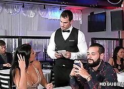 Big ass latina Rose Monroe cheats on her boring man
