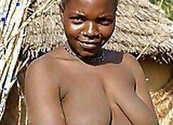 True Hot African Teen GFs