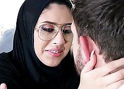 Arab Babe Shared With Boyfriend For Fun