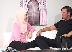 young sexy English teacher with bimbo getting her chin