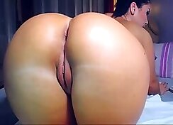 Fucking my bff ass in the shower right here
