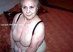 BBW Grandmother Lubed Up By Hot Milf Compilation