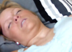 Mother and son Jenni lets William got cum in ass