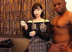 Amateur sex apartment double penetration and black Halloween Scare