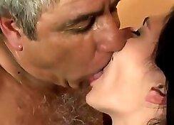Ambika Latina babe Leilani with super hard penis