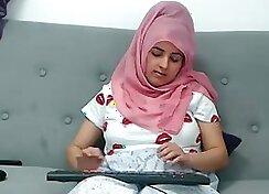 Arab threesome Local Working Girl