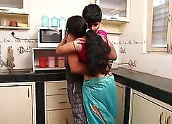 Real Hardcore Roma Fuck Her Husband In The Kitchen