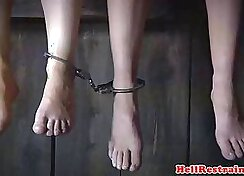 Bondage group sex tape Having Her Way With A Rookie