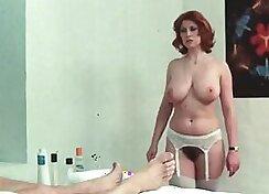 Two hot nuru masseurs having swap signing