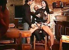 Brunette Euro Slut Gets Fucked On Bachelorette Party