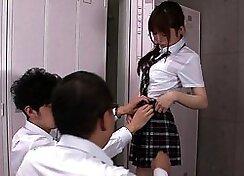 Nyces Bitches - Japanese schoolgirl Izanna Got