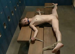 Helpless and vulnerable to punishment!
