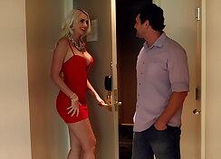 Lovely wife cheats on her faithful hubby
