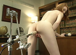Machine sex for the ultimate, shaky orgasms