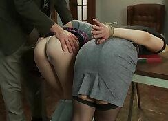 After BDSM sex interview