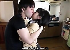 Japanese teen gets her ass fisted and squirted