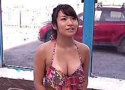 Chunky Jap milf Kate England attracted to phallus but didn´t