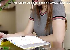 After school slut spanked and taunted