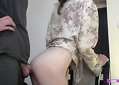 Gorgeous busty girlfriend fucks her Own Sisters Cock