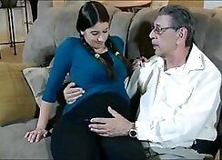 Big Tits Daughter Whats Pregnant!