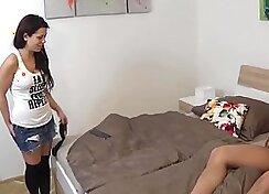 Leah Petrina takes the job of diva with her feet
