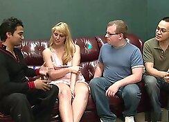 Crazy pornstar in Fabulous Blonde, Gangbang sex video