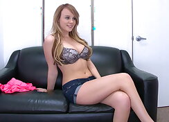 New girl stops by to see if she wants to...